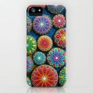Mandala Stone Love Heart iPhone (5, 5s) Slim Case