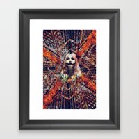 She Wants The World To B… Framed Art Print