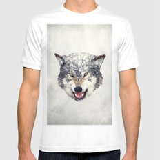 Lobo SMALL White Mens Fitted Tee