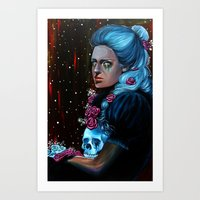 Loneliness In The Arms O… Art Print