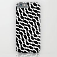 iPhone Cases featuring Waves by Denny Schmickle