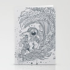 I only surf on Comets Stationery Cards