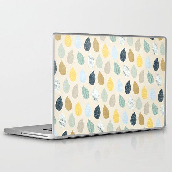 rain drops pattern Laptop & iPad Skin