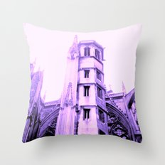 Metz Cathedral, France Throw Pillow