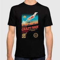Crazy Ivan Mens Fitted Tee Black SMALL