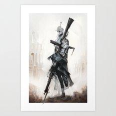 Apparition of War Art Print