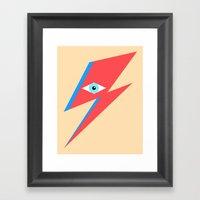David Bowie  |  Ziggy St… Framed Art Print
