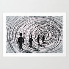 take me with you  Art Print