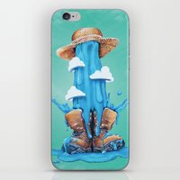 Intrusive Sky iPhone & iPod Skin