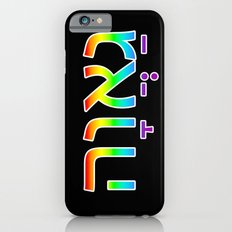 Pride in Hebrew Slim Case iPhone 6s