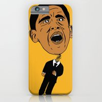 obama iPhone & iPod Cases featuring Obama by Gnarleston