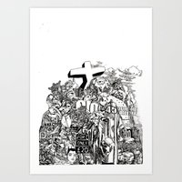 Mound III (from 'The Patriot's Daughter') Art Print