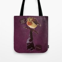 Bat And Robin Tote Bag