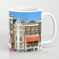 Line Up in Amsterdam. Mug