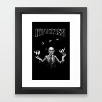 The Tall Man Framed Art Print