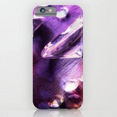 Purple diamonds iPhone 6 Slim Case