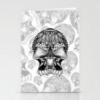 Sugar Skull.  Stationery Cards