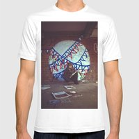 Dreamer Mens Fitted Tee White SMALL
