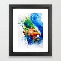 Beauty and the Beast-no.1 Framed Art Print