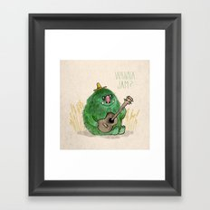 Monster Jam Framed Art Print
