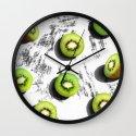 fruit 3 Wall Clock