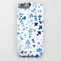 iPhone & iPod Case featuring A house in a forest by Laura Gómez