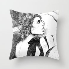 In Dots Throw Pillow