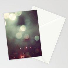 Bokeh @ Night Stationery Cards