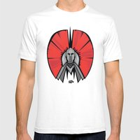 The Red Knight Mens Fitted Tee White SMALL