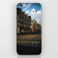 Amsterdam in Winter iPhone & iPod Skin