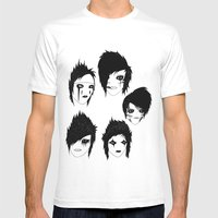 Brides Mens Fitted Tee White SMALL