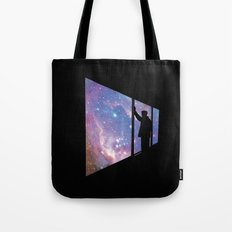 Stare Into Everything Tote Bag