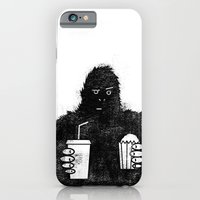 Bigfoot At The Movies iPhone 6 Slim Case
