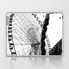 At the Fair: Round and Round Laptop & iPad Skin