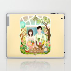 Wedding invitation design for Lisa and Alex Laptop & iPad Skin