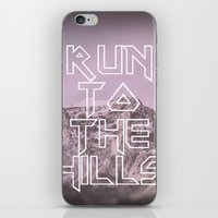 Run To The Hills iPhone & iPod Skin
