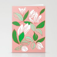 Floating Tulips Stationery Cards
