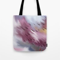 Tears And Clouds Tote Bag