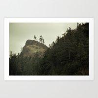 Columbia Gorge II Art Print