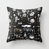 Witchcraft Throw Pillow