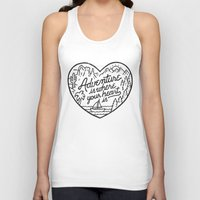 Adventure is where your heart is Unisex Tank Top