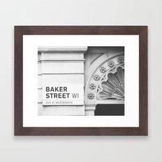 Baker Street Framed Art Print