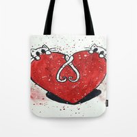 The Purr-fect Valentine Tote Bag