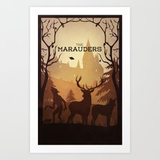 The Marauders Art Print