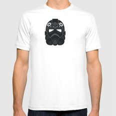 Imperial Pilot Mens Fitted Tee SMALL White