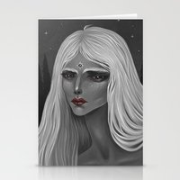 The Moon and Her Stationery Cards