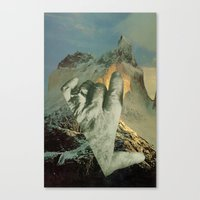 geography dwarfed by scope of events Canvas Print
