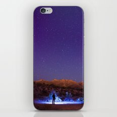 Exploring the night iPhone & iPod Skin