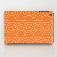 Orange Hex iPad Case