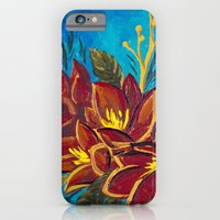 iPhone & iPod Case featuring Amorous Amaryllis by Charlotte Curtis